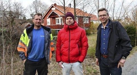 Brødrene Håvard, Roald og Bård Nilsen driver egne virksomheter og skaper arbeidsplasser i Vegårshei. Arkivfoto