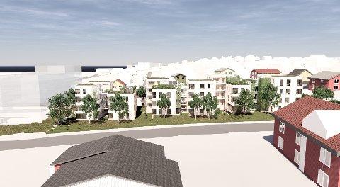 GIR IKKE OPP: Etter at politikerne i Ås bad om at reguleringsplanen fro Solbakken skulle utvides og inkludere naboeiendommene så det som forslaget om 50 nye boliger i Solbakken 3 - 5 kunne bli skrotet, men forslagsstillerne har funnet en løsning med de andre grunneierne.