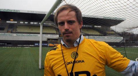 Banksjef? Tidligere Bodø/Glimt-keeper Ivar Andreas Forn skal være mannen som skal drive bankprosjektet videre.