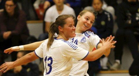 Ny kamp: Junkeren og Benedikte Hokland Ottestad og Ina Sofie Larsen på ny poengjakt.