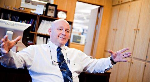Meland-gründer Sigmund Larsen driver selskapet EnvoriNor fra Meland. FOTO: BA