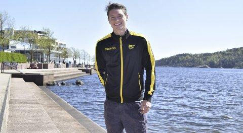 Kasper Skaanes har funnet seg til rette i Kristiansand etter overgangen fra Brann til Start.