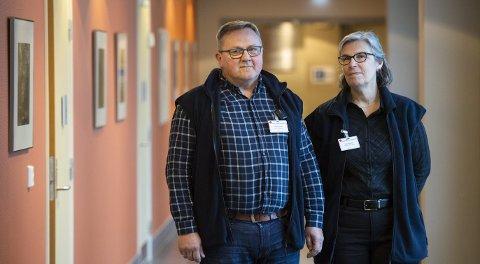 I 2016 opprettet Bergen Røde Kors sykehjem våketjeneste, trolig som første sykehjem i Norge. Nå utvides tilbudet til syv andre kommunale sykehjem. Våkerne Odd Eikeland og Ellen Schistad Storlid har vært med siden oppstarten.