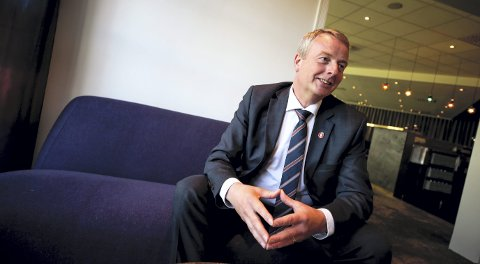 Frps kommende nestleder, Terje Søviknes, er hoppende glad for bompengeopprøret. – Jeg tror flere parti vil stemme mot bompenger i tiden fremover, sier han. FOTO: SCANPIX