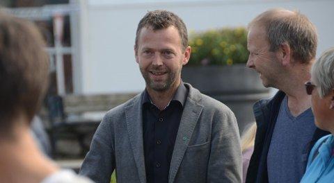 Fornøyd: Randabergordfører Jarle Bø er glad for at Statens vegvesen gir opp å få eierskap til utfylte steinmasser i Mekjarvik. Randaberg kommune har nå fått det akkurat som de har villet hele tiden.