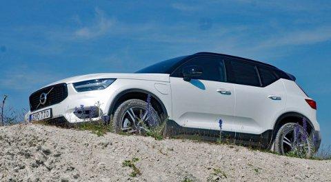MULIG ERSTATTER: Den kompakte SUV-en XC40 er akkurat nå den minste av Volvos modeller. Det er nok ikke usannsynlig at Volvo baserer en V40-etterfølger på denne.