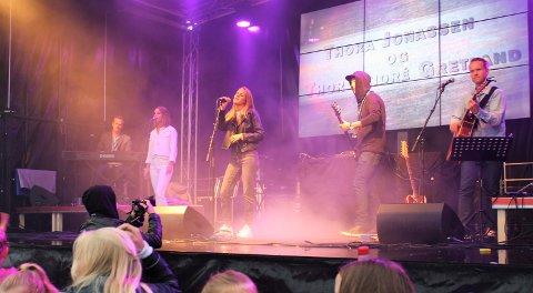 Thora Jonassen og Thor André Gretland fremførte mange av sine egne låter under Bruken festivalen 2016.