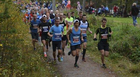 Koblet grepet: Håkon Urdal (279) og Sondre Fylling (393) la seg blant de fremste allerede ut fra start.alle foto: terje antonsen