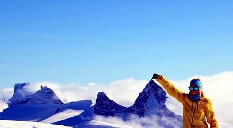 4. Flott å ha fjellet for seg selv #jotunheimen Foto: Marita Ytre