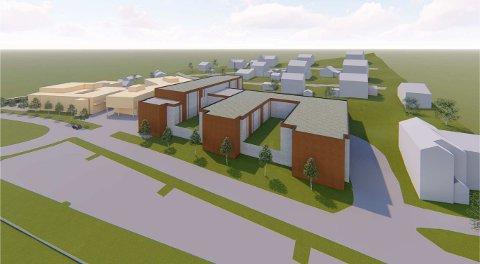 Norconsult har tegnet nybygget nord for dagens Nord-Gudbrandsdal lokalmedisinske senter som en E. Det skal erstatte dagens Sel sjukheim og gi rom til flere nye tjenester og tilbud.