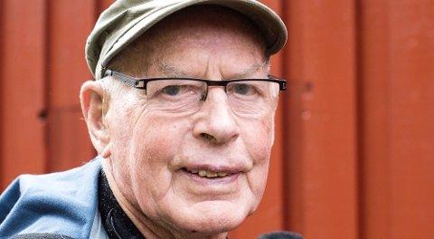 BLE 94 ÅR: Ole Fatland sovnet stille inn 24. juli i Sandeid.