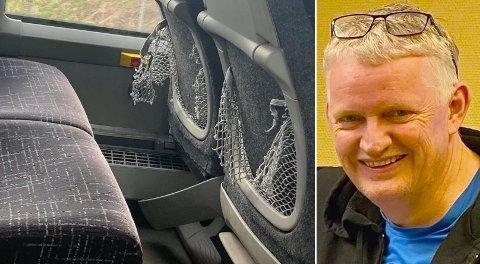 Stig Solheim ser med egne øyne forfallet i bybussene.