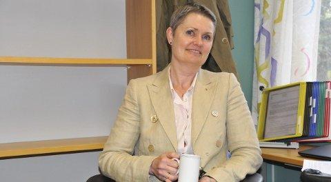 HAR TATT TAK: Fabrikkdirektør Gitte Jensen Wegge forteller at Vistin Pharma har gjennomført en rekke miljøtiltak den siste tiden.