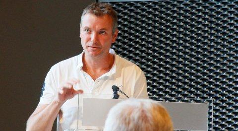 OPPTATT AV HELSE: Henning Hallerud og resten av Kongsberglista ønsker på sikt flere omsorgsboliger i sentrum.