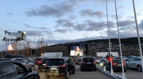 Full rulle i helga: På parkeringsplassen utenfor Norges Varemesse er det trygg underholdning for store og små fredag og lørdag.