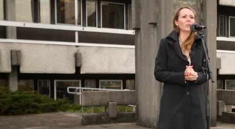 INGEN KOSTNADER: Kommunal- og moderniseringsminister Linda Hofstad Helleland sier Statens hus ikke medfører kostnader for kommunene som er valgt ut.