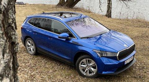 Skoda er klar for å banke ut så mange eksemplarer av sin el-SUV Enyaq som de klarer. Det er ventet skyhøy interesse. Vårt første møte med bilen, lover godt.
