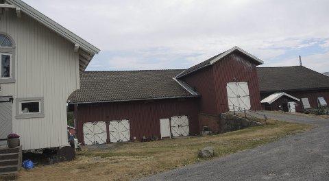 Klorer seg fast: Bøler gård var en av prektigste og mest velholdne Akergårdene ved Østmarka. Foto: Ivar Sekne