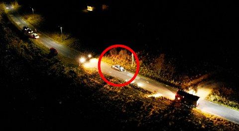 ULYKKEN: Dette bildet er tatt samme dag som ulykken inntraff på Vannøya lørdag for en uke siden.