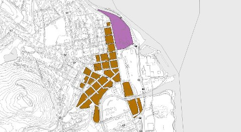"""KLARE GRENSER: Storskala detaljhandel kan kun etableres innenfor disse grensene i Gjøvik. Fylkesmannen """"overvåker"""" at kommunen holder seg til vedtatte kommuneplaner"""