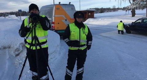 Statens vegvesen avholdt kontroll på Vestre Toten tirsdag.