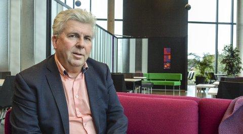 Initiativtaker: Jan Christiansen ved Thor Heyerdahl vgs. har tatt initiativ til å få til noe mer for Larviks fotballtalenter.