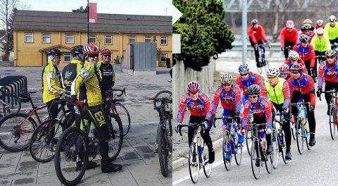 SLÅR SEG SAMMEN: JH-sykkel og Elverum Sykleklubb har levd side-om-side i 10 år. Nå slår de seg sammen til én stor klubb. Det betyr også nytt navn, ny logo og nye drakter. (Foto: Jan Morten Frengstad/Privat)