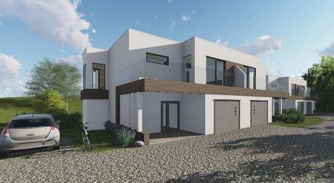 PROSJEKT: Dabygg AS har prosjektert fem nye boenheter i Johan Falkbergets veg 56.