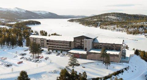 SKRINLEGGES IKKE: Selv om det ikke blir utbygging i år, er planene om tidenes utbygging ved Savalen Fjellhotel & Spa på langt nær lagt i skuffen.