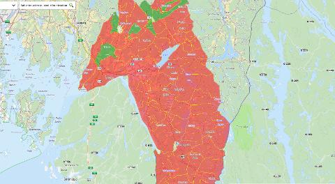 Slik har Halden kommune gjort det. Skjermdump fra Halden kommune sine nettsider.
