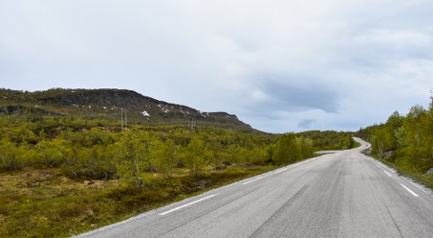 OMSTRIDT: Vindmøller på Sjonfjellet har allerde, og kommer til, å skape mye debatt. De kan også få innvirkning på Fv 17 sin status som Nasjonal turistvei.