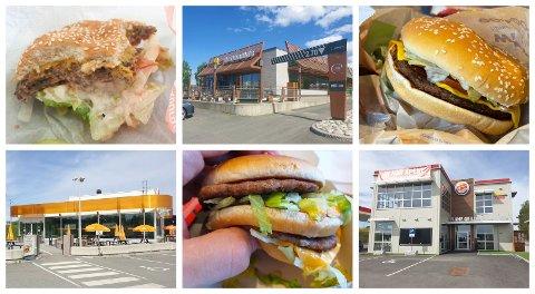 BURGER, BURGER, BURGER! RB har testet de tre store burgerkjedene i Ringsaker.