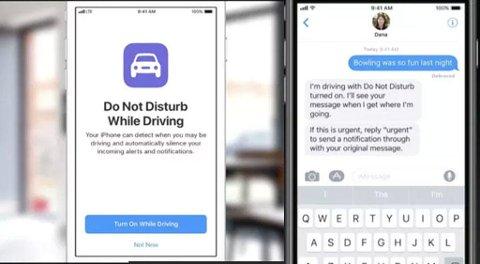 NYTT: Du kan selve om funksjonen skal aktiveres - og personer som forsøker å få tak i deg kan automatisk få beskjed om at du er opptatt.