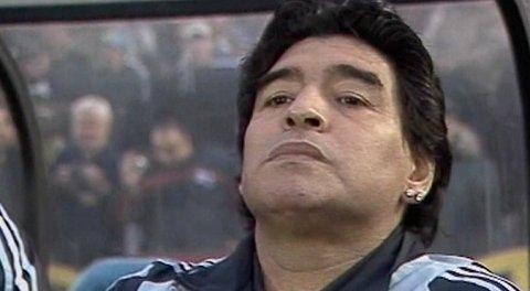 Diego Maradona er død. Foto: