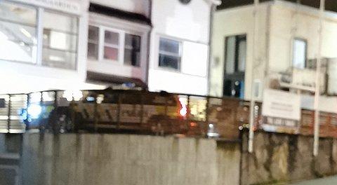 POLITI: Politiet rykket ut til en adresse i Langgata natt til tirsdag.