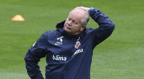 Landslagssjef Per-Mathias Høgmo er spent før dobbellandskampene mot Kroatia og Bulgaria.