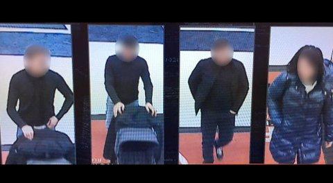 Fire personer i den såkalte barnevogn-banden er pågrepet. Foto: Politiet/TV 2