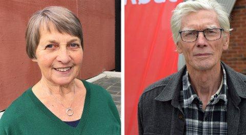 STILLER TIL VALG: Martha Kristin Ringerud i Venstre Toten Venstre. Tor Sundheim er i prinsippet førstekandidaten til Vestre Toten Rødt.