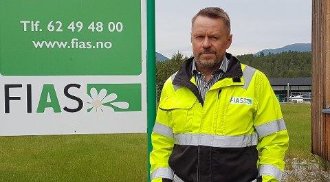 NY SJEF: Ole Solvang er ansatt som ny daglig leder i Fias fra 1.august.