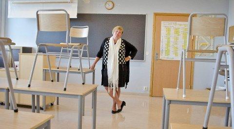 Grete Iren Heen, rektor ved Ås ungdomsskole.