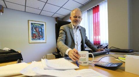 MÅ SPISE AV LAGERET: Fordi vinterens salg har vært så dårlig vil fremtidig salg gå fra lagerhyllene, ikke fra produksjonen. Det er resultatet etter at Aebi Schmidt (Tellefsdal) har blitt utsatt for den dårligste snøvinteren på 60 år. – Det er det mest ekstreme vi har opplevd, sier administrerende direktør Egil Aasheim.Foto: Arkiv / Stig Sandmo