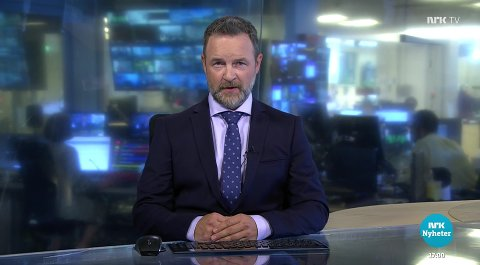 FREDAG: Eies siste sending var fredag 25. juni. Da sto regjeringens halvårlige pressekonferanse, nedstenging av Sydney og kollaps i Miami på kjøreplanen. SKJERMDUMP: NRK