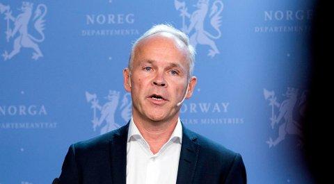 Nyslått kunnskaps- og integreringsminister Jan Tore Sanner vil ha mer igjen for de 17 milliardene som årlig pumpes inn i introduksjonsprogrammet. Foto: Gorm Kallestad (NTB scanpix)