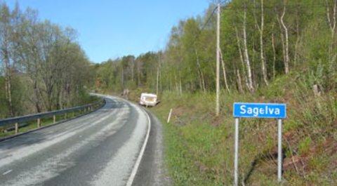 Fra Sagelva og i retning Nordvika vil det bli store trafikale utbedringer.