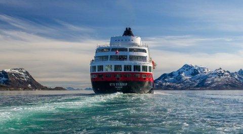 MS Otto Sverdrup blir det første cruiseskipet til Bodø på lang tid.