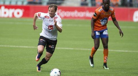 Lars Christian Kjemhus kom til Sogndal fra Fana i 2015, og har siden spilt 87 kamper i eliteserien og 1. divisjon.