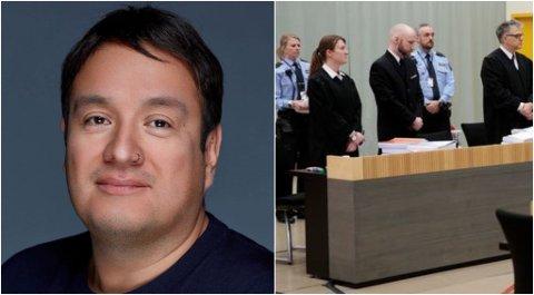 MEDDOMMAR: Thomas Indrebø frå Førde blei kasta ut som meddommar då ein kommentar om dødsstraff kom opp til overflata.