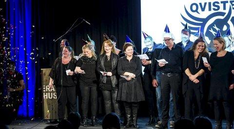 Startet seremonien: Båthuskoret startet og avlutten den store åpningssermonen under årets festival.                                                                 FOTO ALLE: JOHNNY LEO JOHANSEN