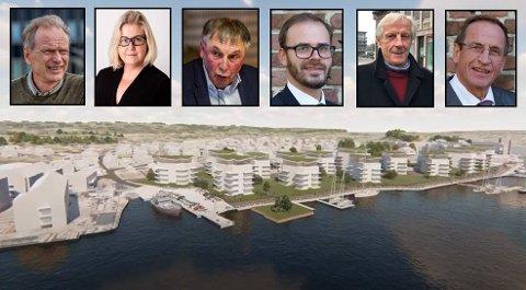 """KLAGER: Opposisjonen ved Høyres Truls Velgaard og Marte Frestad Andersen, samt KrFs Lino Lubiana har sendt inn en lovlighetsklage på bystyrets behandling av arealplanen. Det samme har Trond Svandal (V), og """"utbryterne"""" Henning Aal (MdG) og Hans Ek (SP),. De siste tre vil at kommunaldepartementet skal behandle klagen dersom ikke bystyret opphever vedtaket."""