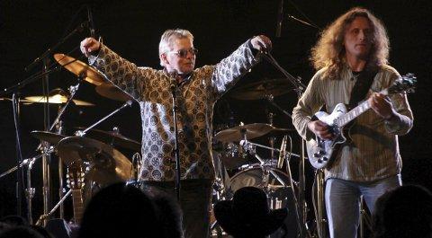 Knut Magne Myrland fra en konsert tilbake i 2012. Foto: Pressebilde fra 2012